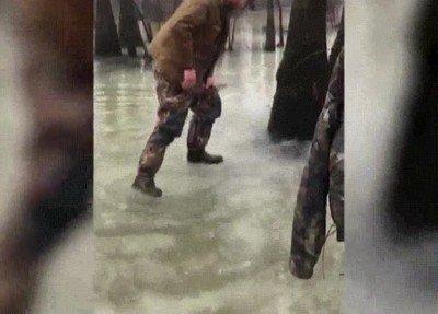 Enlace a Cuando no puedes escapar de un lago congelado