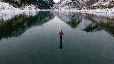 Enlace a La increíble paz y tranquilidad que puede dar patinar sobre hielo
