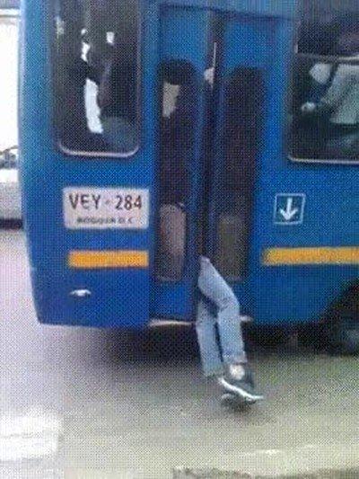 Enlace a Cuando tienes un examen a las 9 y no puedes perder ese autobús