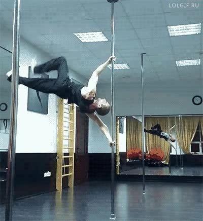Enlace a Uno de los ejercicios más alucinantes que he visto hacer en una barra