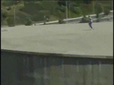 Enlace a Jeremy Wray logrando lo imposible con su skate