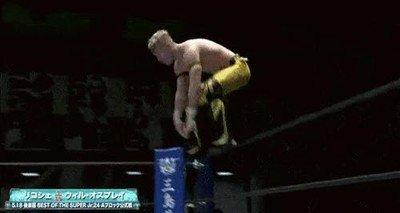 Enlace a La lucha libre cada vez tiene movimientos más espectaculares