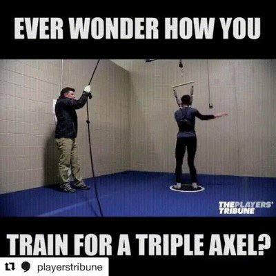 Enlace a ¿Cómo te imaginabas que entrenan para hacer esos saltos?