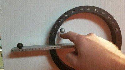 Enlace a Calendario magnético. Ahora necesito uno en mi vida