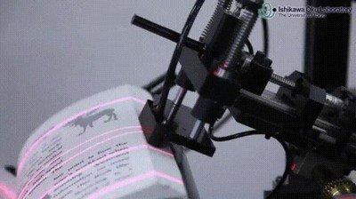 Enlace a Una máquina capaz de escanear 250 páginas por minuto