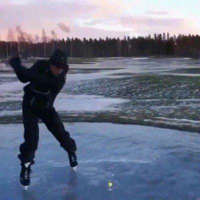 Enlace a Así tienen que jugar al Golf en Canadá
