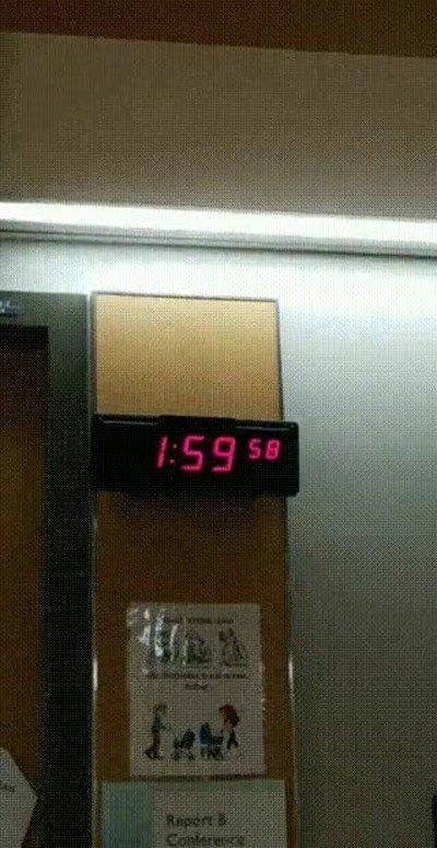 Enlace a Ese mágico momento en el que vivimos el cambio de hora