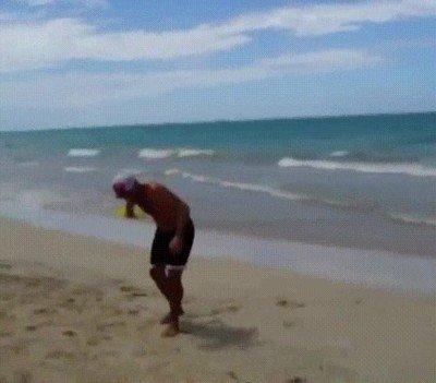 Enlace a Un frisbee que es como un boomerang