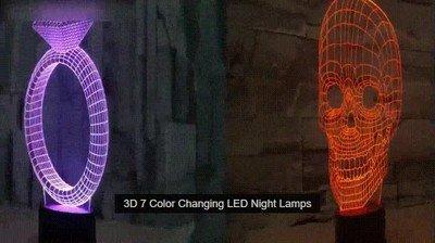 Enlace a Lámparas en 3D que impresionarán a todos tus invitados