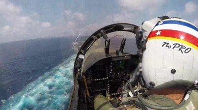 Enlace a Esto es lo que se siente cuando aterrizas en un portaviones