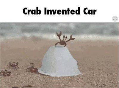 Enlace a Han inventado el primer coche de la historia creado para cangrejos