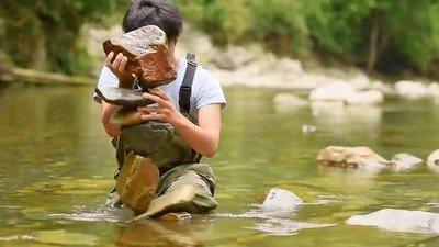 Enlace a Colocar piedras en el río: Nivel Ninja