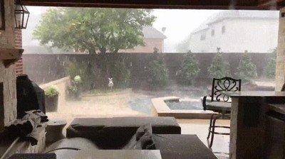 Enlace a La típica tormenta de verano en Texas