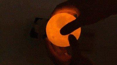 Enlace a Esta lámpara de la luna en 3D es simplemente una maravilla