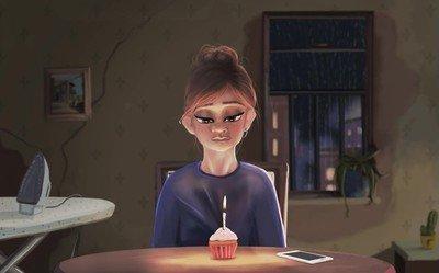 Enlace a Así es cómo se creen que los solteros celebran los cumpleaños