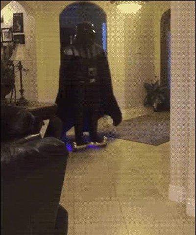 Enlace a Darth Vader no se ha adaptado muy bien a las nuevas tecnologías