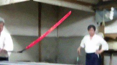 Enlace a Así se crea una espada tradicional japonesa