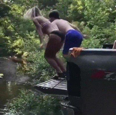 Enlace a Hay dos tipos de personas cuando se trata de saltar desde un trampolín