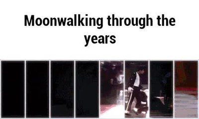 Enlace a Moonwalk atraves de los años