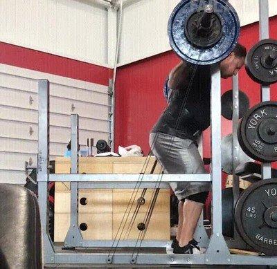 Enlace a Los problemas de grabarte mientras haces ejercicio en el gimnasio