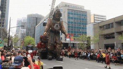 Enlace a Brutal esta marioneta gigante