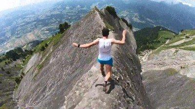Enlace a ¿Te atreverías a bajar de un montaña de esta forma?