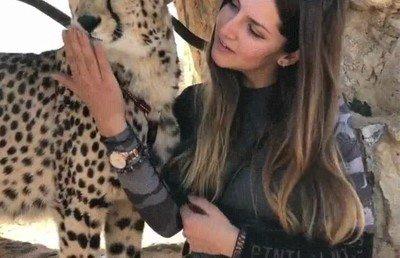Enlace a El mejor amigo de esta chica es un guepardo