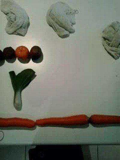 Enlace a Cuando te aburres en casa y haces un stop motion con las verduras de la compra