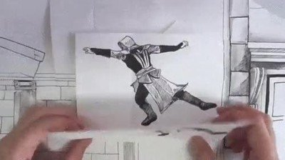 Enlace a Un genial stop motion inspirado en Assassin's Creed