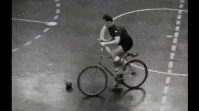 Enlace a Mundial de bici fútbol en 1949