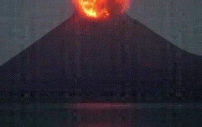 Enlace a La erupción de un volcán siempre es algo alucinante de ver
