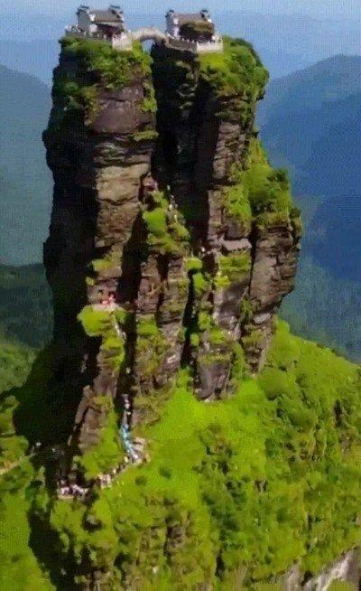 Enlace a ¿Te atreverías a subir a esta montaña?