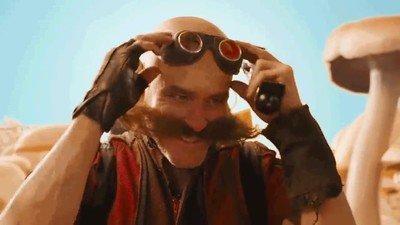 Enlace a Así es Jim Carrey como Dr. Robotnik en la película de Sonic