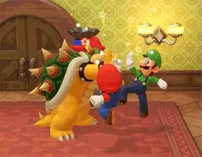 Enlace a Mario, Luigi y Bowser uniendo fuerzas por un bien común
