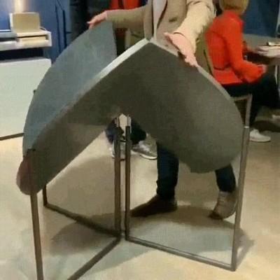 Enlace a Una mesa genial para ahorrar espacio en caa