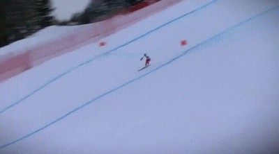 Enlace a Acabando la prueba con un solo esquí