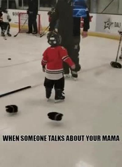 Enlace a Cuando alguien dice algo malo de tu madre