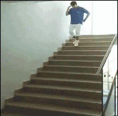 Enlace a Imposible bajar las escaleras con más flow