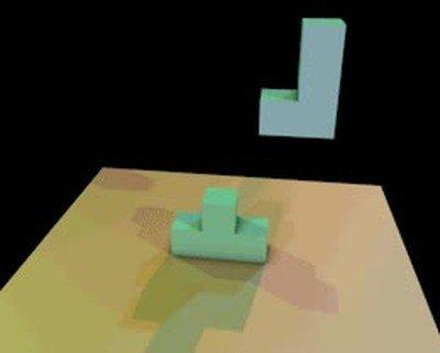 Enlace a Una partida infinita de Tetris