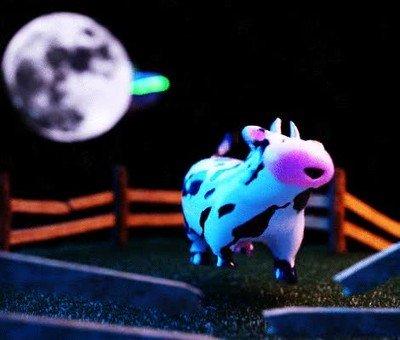 Enlace a La pobre vaca se lo espera pero no podrá hacer nada de nada