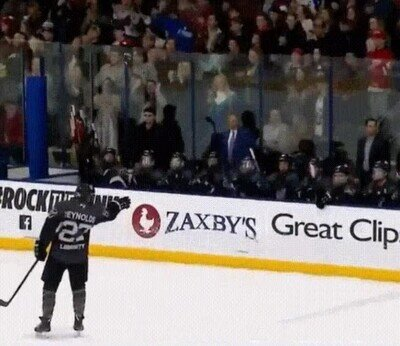 Enlace a Este jugador de hockey es un Jedi que puede controlar La Fuerza