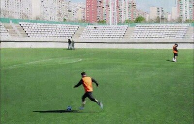 Enlace a Messi siendo Messi hasta en los entrenamientos