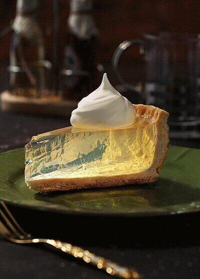 Enlace a Podría pasarme horas y horas mirando este pastel de limón transparente