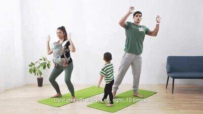 Enlace a Así hacen ejercicio las familias en pleno confinamiento