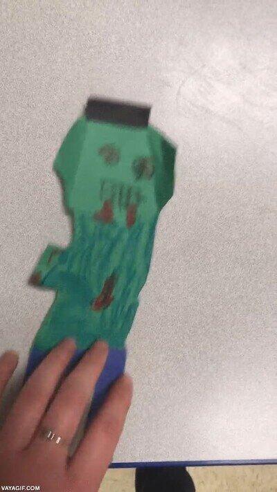 Enlace a Le dije a mi alumno que este zombie necesitaba calzoncillos, y esto hizo