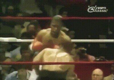 Enlace a Mike Tyson en su mejor nivel pareciá un superhéroe