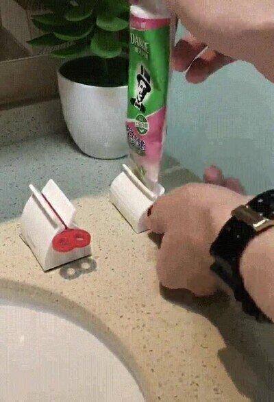 Enlace a Debería existir uno de estos en cada casa para ahorrar en pasta de dientes