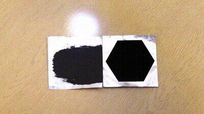 Enlace a El Vantablack es increíble, un material que absorbe la luz