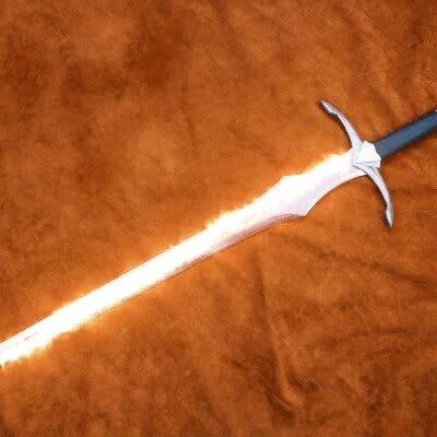 Enlace a Una espada con fuego es lo que más mola del universo