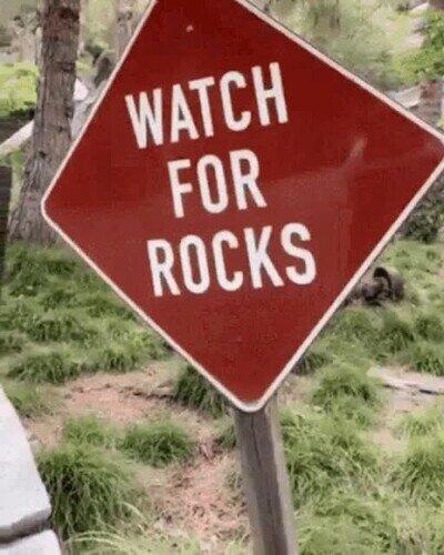 Enlace a Cuidado con las rocas...